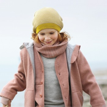 Walk Kinderjacke Outdoor gefüttert rose