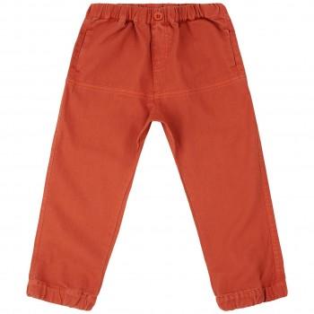 Outdoor Hose Twill in rusty orange