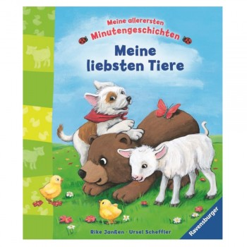 Meine liebsten Tiere - Kurzgeschichten ab 18 Monaten