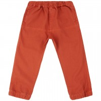Outdoor Hose Twill in rusty orange
