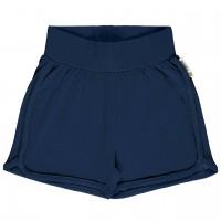 Leichte Jersey Shorts in dunkelblau