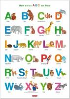 ABC Poster Lerntafel ab 4 Jahre 70x 100 cm
