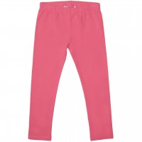 Elastische pinke Uni Basic Leggings