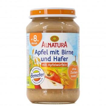 Apfel mit Birne und Hafer ab 8 Monaten (190g)
