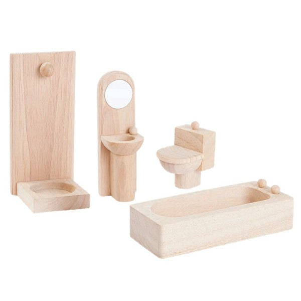 Badezimmer naturbelassen Puppenhaus Möbel | greenstories