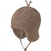 Fleece Wintermütze beliebter Klassiker braun