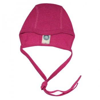 Ganzjahres Babymütze für Neugeborene pink