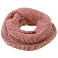 Wolle Schlauchschal rosa gross 8-99 Jahre