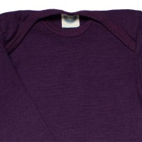 Vorschau: Wolle Seide atmungsaktiver Body Wolle Seide lila