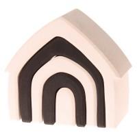 Vorschau: Haus schwarz weiß