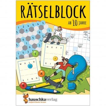 Rätselblock – Rätselspaß für Kinder ab 10 Jahre Bd 1