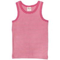 Bio Unterhemd Mädchen people rosa gestreift