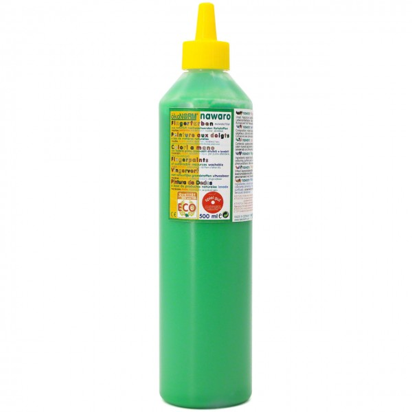 Fingerfarben 500 ml Schul- und Theaterfarbe grün