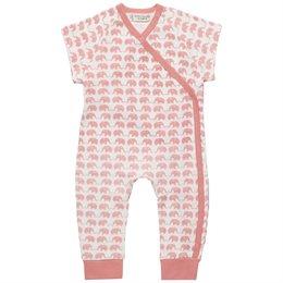 Baby Bio Mädchen Strampler - kurzarm