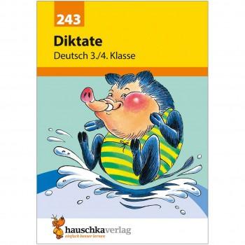 Diktat Übungstexte – Deutsch Übungsheft 3. bis 4. Klasse