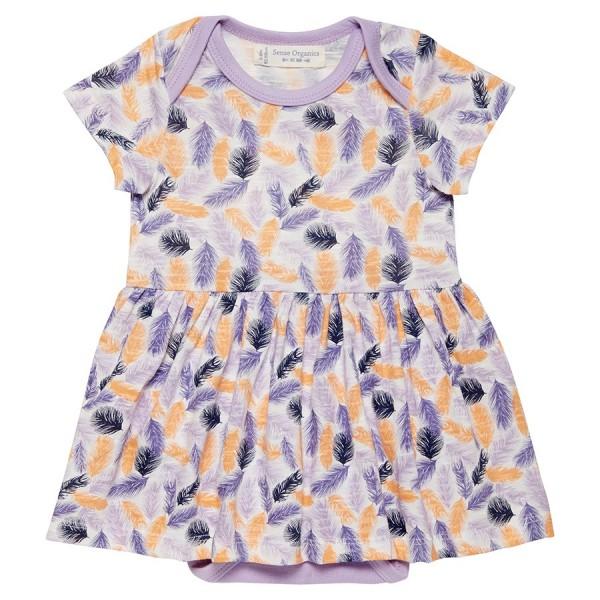 Baby Body Kleid Feder