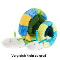 Vorschau: Grosse Puckschnecke Babynest blau