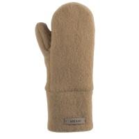 Bio Wolle Kinder Handschuhe beige