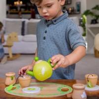 Kinder Teeservice aus Holz 13 Teile