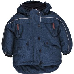 Winterjacke für Kinder neutral in Jeansoptik