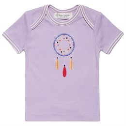 Baby T-Shirt türkis Indianer Tilly
