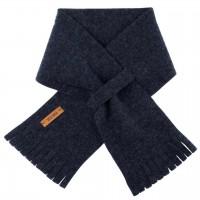Steckschal Wolle 70 cm ca. 1-3 Jahre jeans