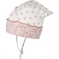 Baby Kopftuch mit elastischem Stirnband creme