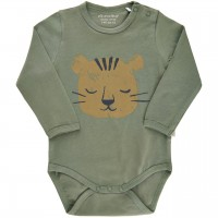 Langarm Body Tiger khaki