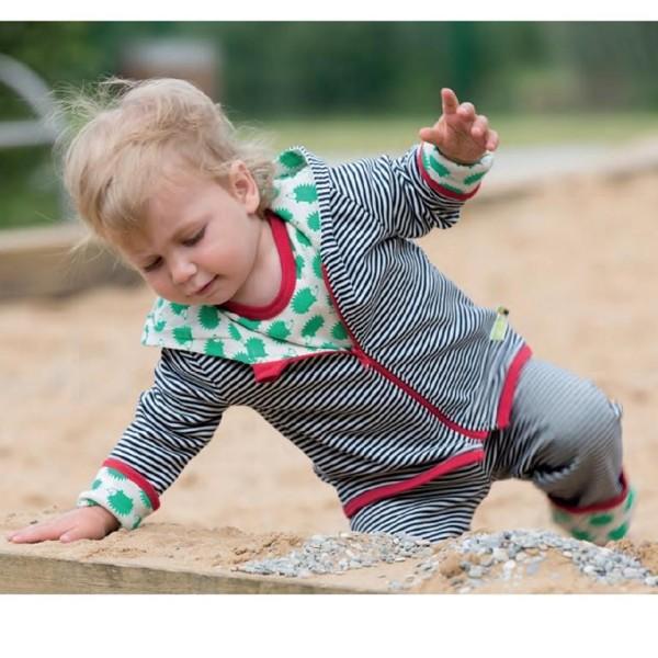 Wendejacke für Babys und Kinder mit 2 Seiten - süßer Igel