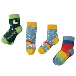 3er Pack Bio Frugi Socken Huhn