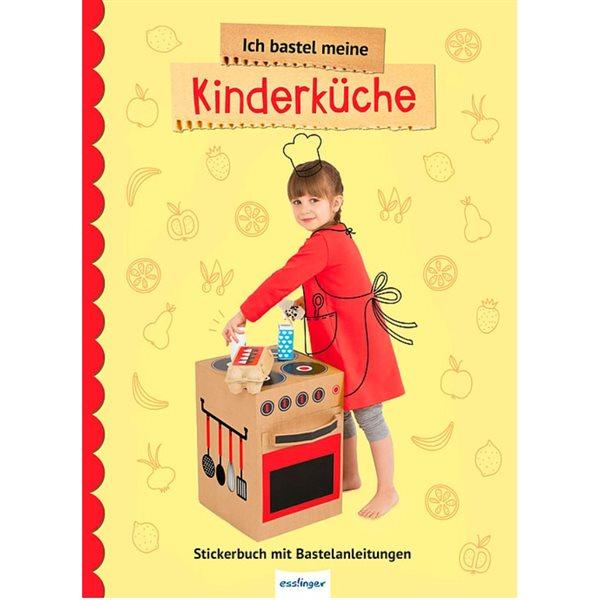 Kuche Basteln Pappkarton Sticker