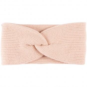 Damen Wolle Kaschmir Stirnband rosa