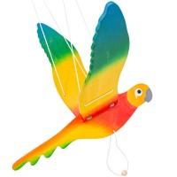 Mobile Papagei fürs Kinderzimmer 30 x 50 cm