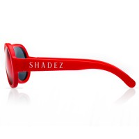 Vorschau: 3-7 Jahre flexible Sonnenbrille uni rot