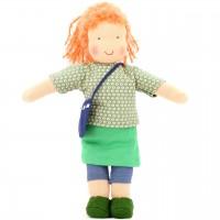 Bio Puppe zum Ankleiden 38 cm - Inga
