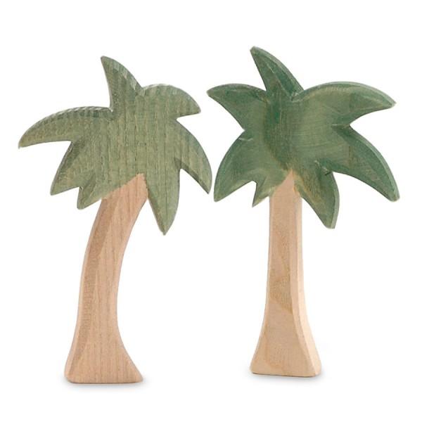 MINIATUR 12 cm Palmengruppe 2 Teile für Weihnachtskrippe
