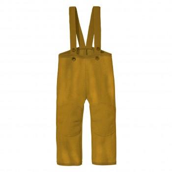 Walkhose warm Schurwolle in gold-gelb
