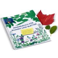 Kinder Herbarium Sammelbuch Blumen und Blätter