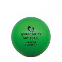 Softball 16 cm grün für Kleinkinder oder Handballer