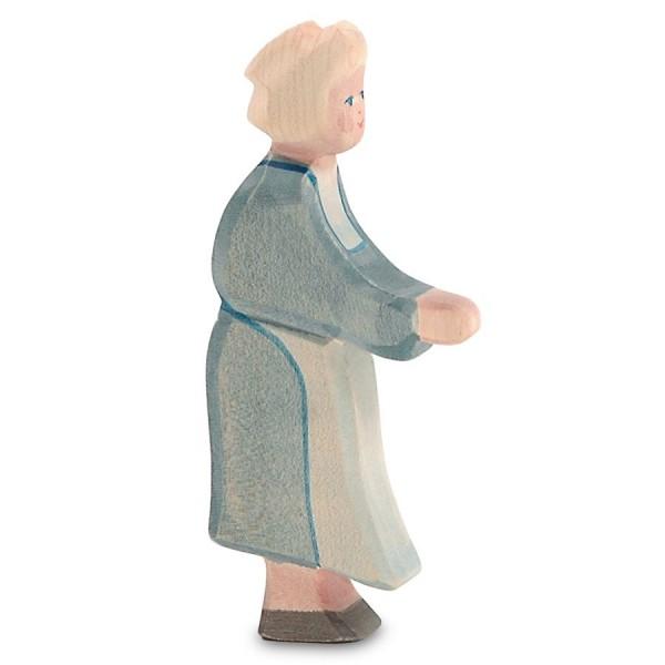 Grossmutter Holzfigur 14 cm hoch