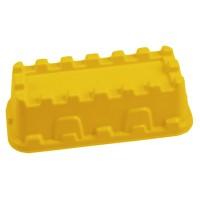 Sandform Burgmauer - gelb