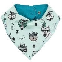 Baby Dreiecktuch mit Tieren
