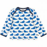 Blaues Shirt Robbe leicht und robust