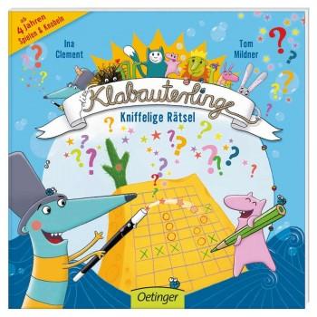 Rätsel Buch Klabauterlinge kniffelige Rätsel