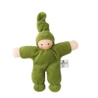 Klassiker! Frottee-Pimpel - grün