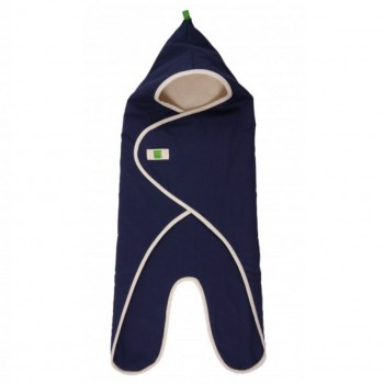 Bio Einschlagdecke für Babyschale & Autositz Marine