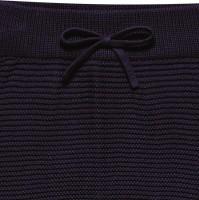 Vorschau: Edle Strickhose aus hochwertiger Biobaumwolle - neutral navy