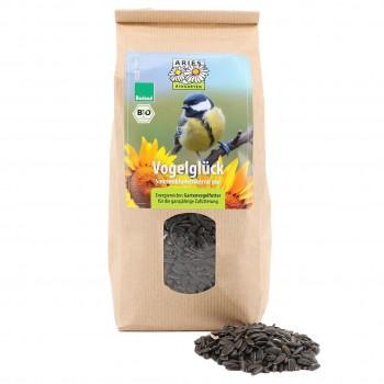 Vogelfutter Vogelglück Sonnenblumenkerne pur 500g