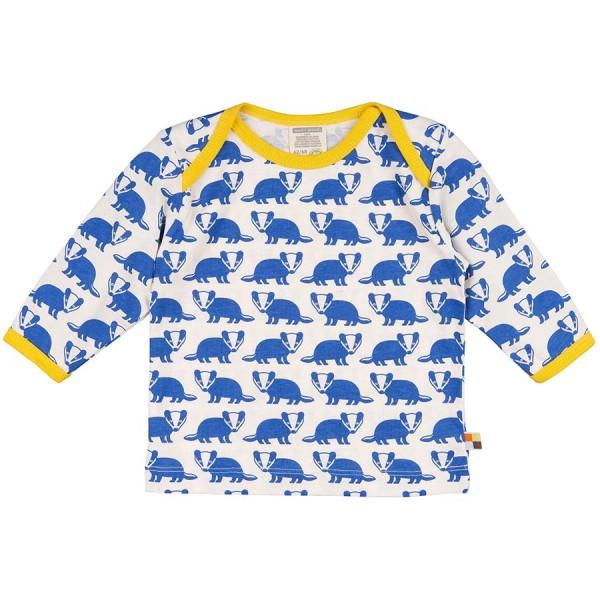 Bio Shirt Dachs blau