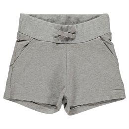 Sweat Shorts Mädchen - cool, sommerlich robust grau
